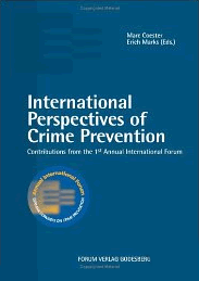International Perspectives of Crime Prevention 1